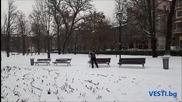 Първият голям сняг в София