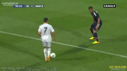 Cristiano Ronaldo vs Lyon (a) 13-14 Hd