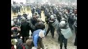 Бой На Протеста !!! 14.01.2009