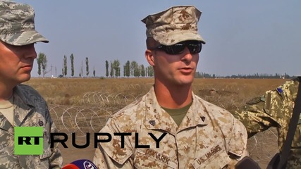 Ukraine: NATO continue military drills with Ukrainian and Moldovan soldiers