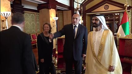 Бойко Борисов се срещна с министър-председателя на ОАЕ