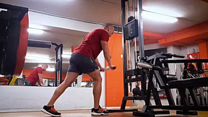 90 дневна трансформация | Изграждане на мускул, горене на мазнини | Ден 29 - Гърди, трицепс