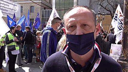 France: Police officers protest verdict in assault case in Paris