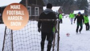 Frozen league: The football team that chooses snow
