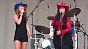 Midnight Rocks the Runway - Haley Mom sing Piece Of My Reinhart