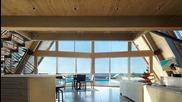 Стилна сглобяема къща за отдих
