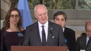 Switzerland: UN's de Mistura condemns deadly Brussels bomb attacks