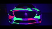 Vossen - Шареният немец: Mercedes- Benz S550 Wrap Project