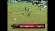 Usa 1:1 Argentina - Friendly match