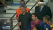 Жозе Моуриньо се подигра с Меси