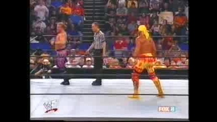 Wwe Hulk Hogan Vs. Chris Jericho , 2 May 2002