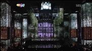 Dynamic Black (kikwang, Jinwoon, Hoya, Lee Joon, L. Joe) - Yesterday [ Sbs Gayo Daejun ]