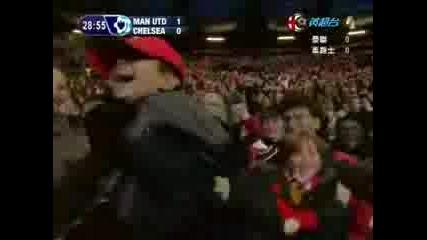 Manchester United Vs Chelsea 06 - 07