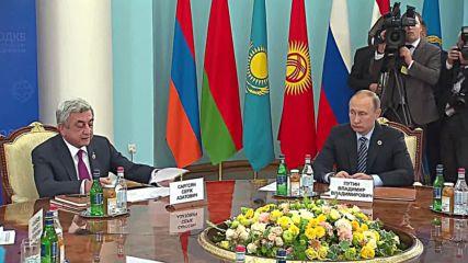 Armenia: CSTO leaders kick off meeting on terrorism in Yerevan