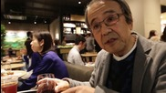 Japan: Tokyo Starbucks customers in good spirits as they trade coffee for booze