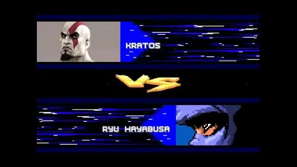 Kratos Vs Ryu Hayabusa