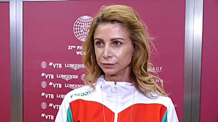 Весела Димитрова след бронза на ансамбъла ни на световното по художествена гимнастика