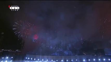 Изключително шоу,нова година в Дубай