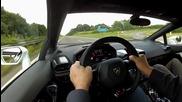 Ето как вдига Lamborghini Huracan 329 km/h