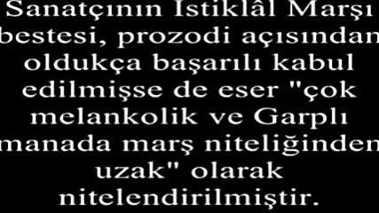 Ali Rifat Cagatay - Istiklal Marsi ♥ Erken Versiyon / Onceki Surum ♥ ♥ Turkiye ' Nin Milli Marsi ♥