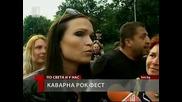 Rock Boulevard of Glory in Kavarna has one more symbol - The Portrait of The Ice Queen Tarja Turunen