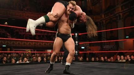 British Strong Style vs. Gallus - Six-Man Tag Team Match: NXT UK, Jan. 9, 2019