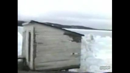 При - 45 градуса и вълните замръзват!