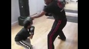 Adam Azim Age 7 - Focus Mitts Boxing Training