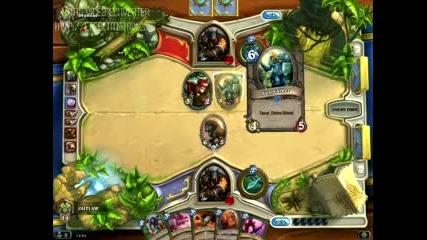 Hearthstone (ranked) Hunter vs Hunter - Луда игра !!!