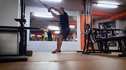 90 дневна трансформация | Изграждане на мускул, горене на мазнини | Ден 10 - Гръб, задно рамо