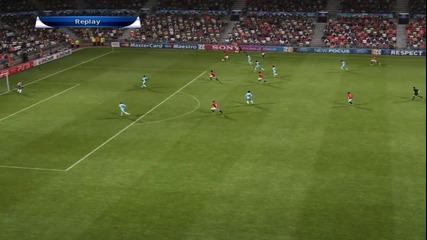 Pes 2012 - Champions League - Man.united vs Man.city - Ep.10