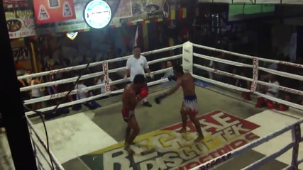 Most Brutal Muay Thai Fight Ever Thailand Round 4