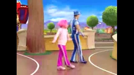 Lazy Town - Cant Move
