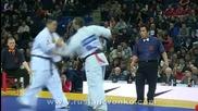 5th Karate World Cup, 1/4 man Heavyweight, Dimitrov - Kenta Mori ( Jap )