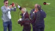 Величествено и феноменално! Стоичков, Пенев и Бербо с хеликоптер на терена