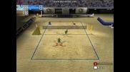 играта плажен волейбол - 7 етап - бразилия и франция 2