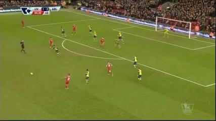 Ливърпул не се предаде пред Арсенал