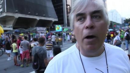 Brazil: Anti-govt protesters call for Rousseff's impeachment in Sao Paulo