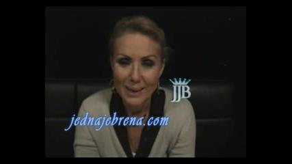 Lepa Brena - Exkluziva za Oficijalni sajt JednaJeBrena_com, 25.12.'08. Club Taksim, Bochum,