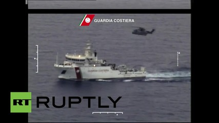Italy: Major rescue operation after 700 migrants feared dead in shipwreck