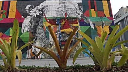 Бразилски артист се вдъхнови от петте олимпийски кръга