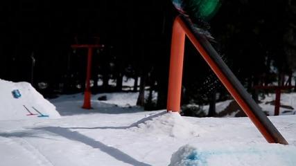 """Сноуборд състезание на Пампорово """"World Rookie Tour 2014"""""""