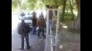 Изпращане на абитуриенти от автото Плевен 08.05.09