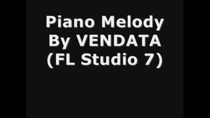 Piano Melody By Vendata
