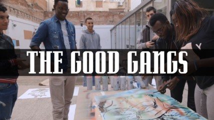 Stereotype switch up: The migrant taggers with a good goal