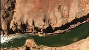 National Geographic - Забележителен полет над Гранд Каньон (високо качество)