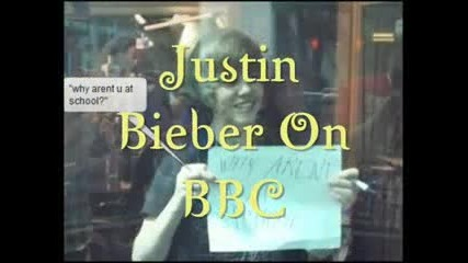 justin bieber on bbc radio