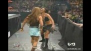 Wwe Candice With Victoria Vs Mickie With Trish