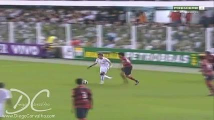 Neymar (santos x Flamengo)