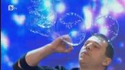 България Търси Талант 2015 - талант с балончета